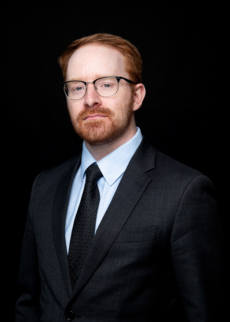 photo of Dwight Dakers, articling student with Beresh Law