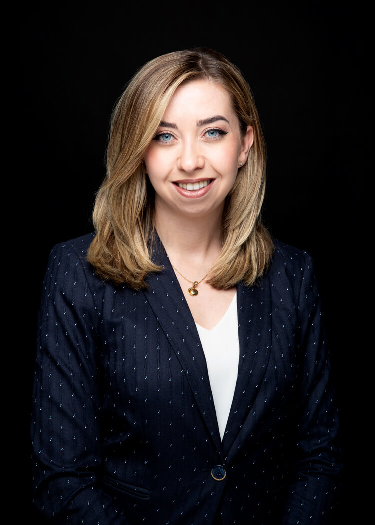 photo of Ellen Sutherland, articling student with Beresh Law